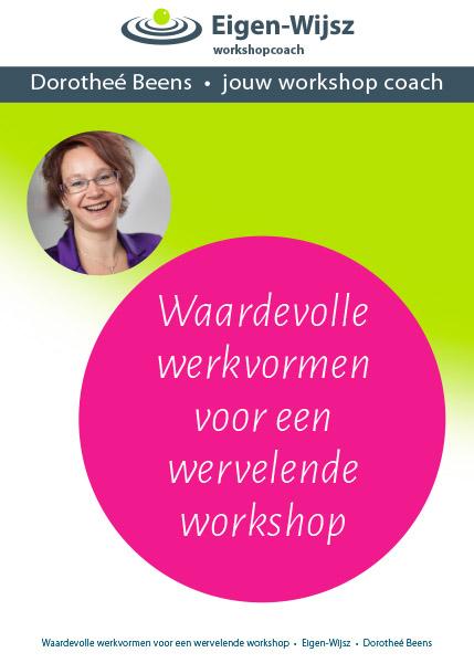 Eigen-wijsz Dorothée e-book Waardevolle werkvormen voor een wervelende workshop